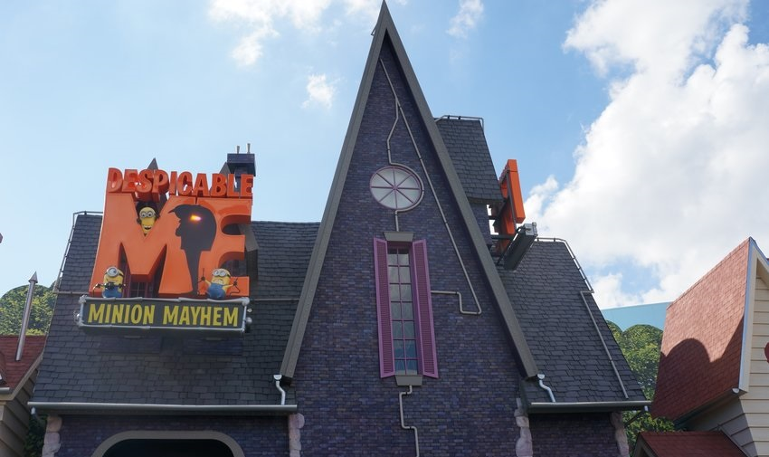 Despicable Me Minion Mayhem (Universal Studios Hollywood – Upper Lot)