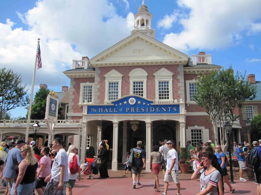 The Hall of Presidents (Magic Kingdom – Liberty Square)