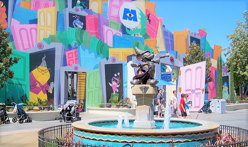Monsters, Inc. Mike & Sulley to the Rescue! (Disney California Adventure – Hollywood Land)
