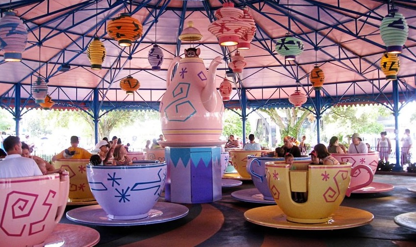 Mad Tea Party (Magic Kingdom – Fantasyland)