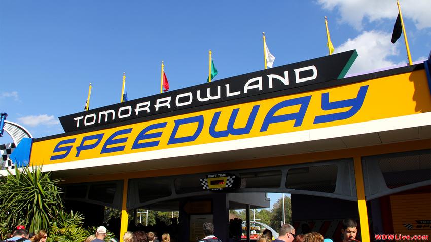 Tomorrowland Speedway (Magic Kingdom – Tomorrowland)