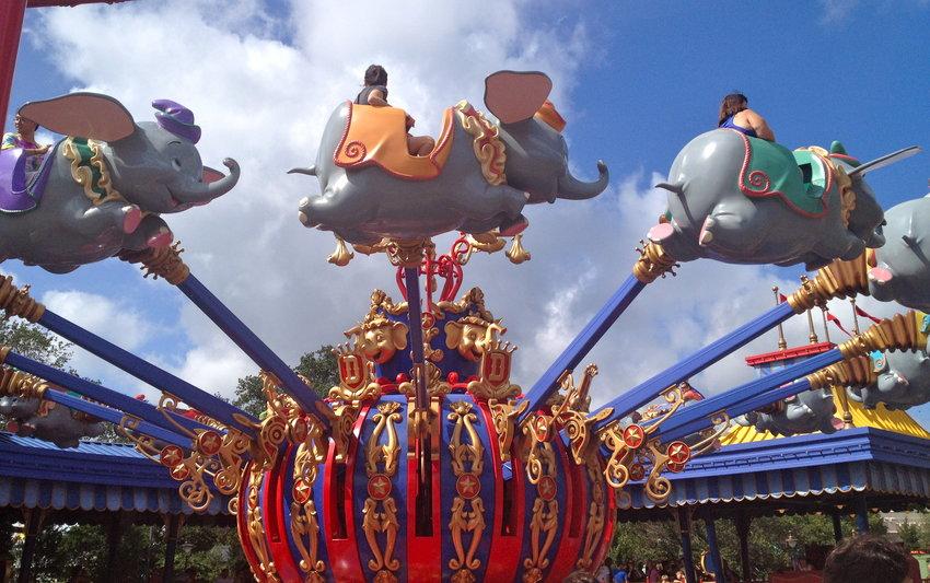Dumbo the Flying Elephant (Magic Kingdom – Fantasyland)