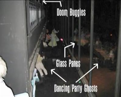 The Haunted Mansion Hall Scene 3