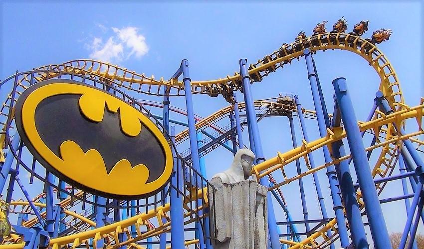 TOP 5 – Os parques Six Flags que os fanáticos por montanhas-russas têm que conhecer