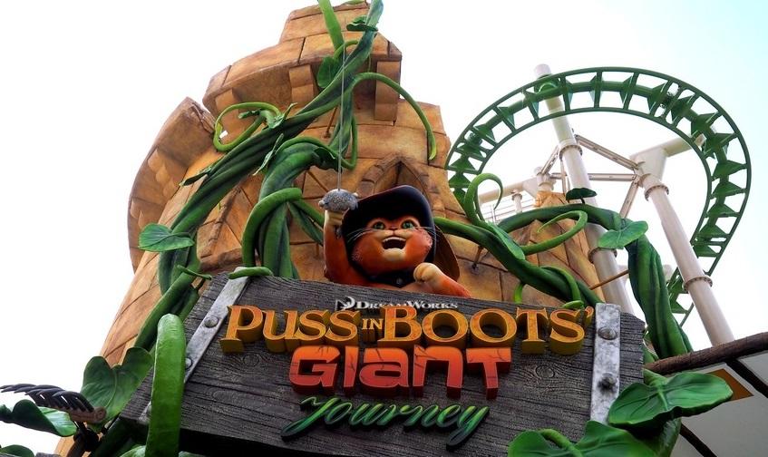 Puss in Boots Giant Journey (Universal Studios Singapore – Far Far Away)
