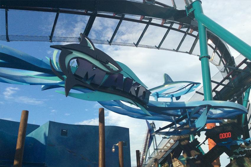 Por dentro da Mako, nova montanha-russa do SeaWorld Orlando