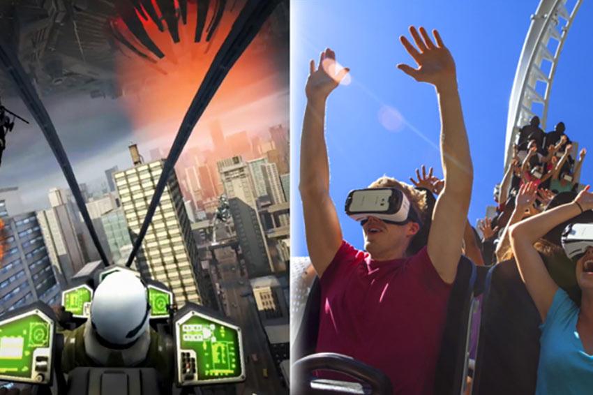 Six Flags vai inserir realidade virtual em montanhas-russas esse ano
