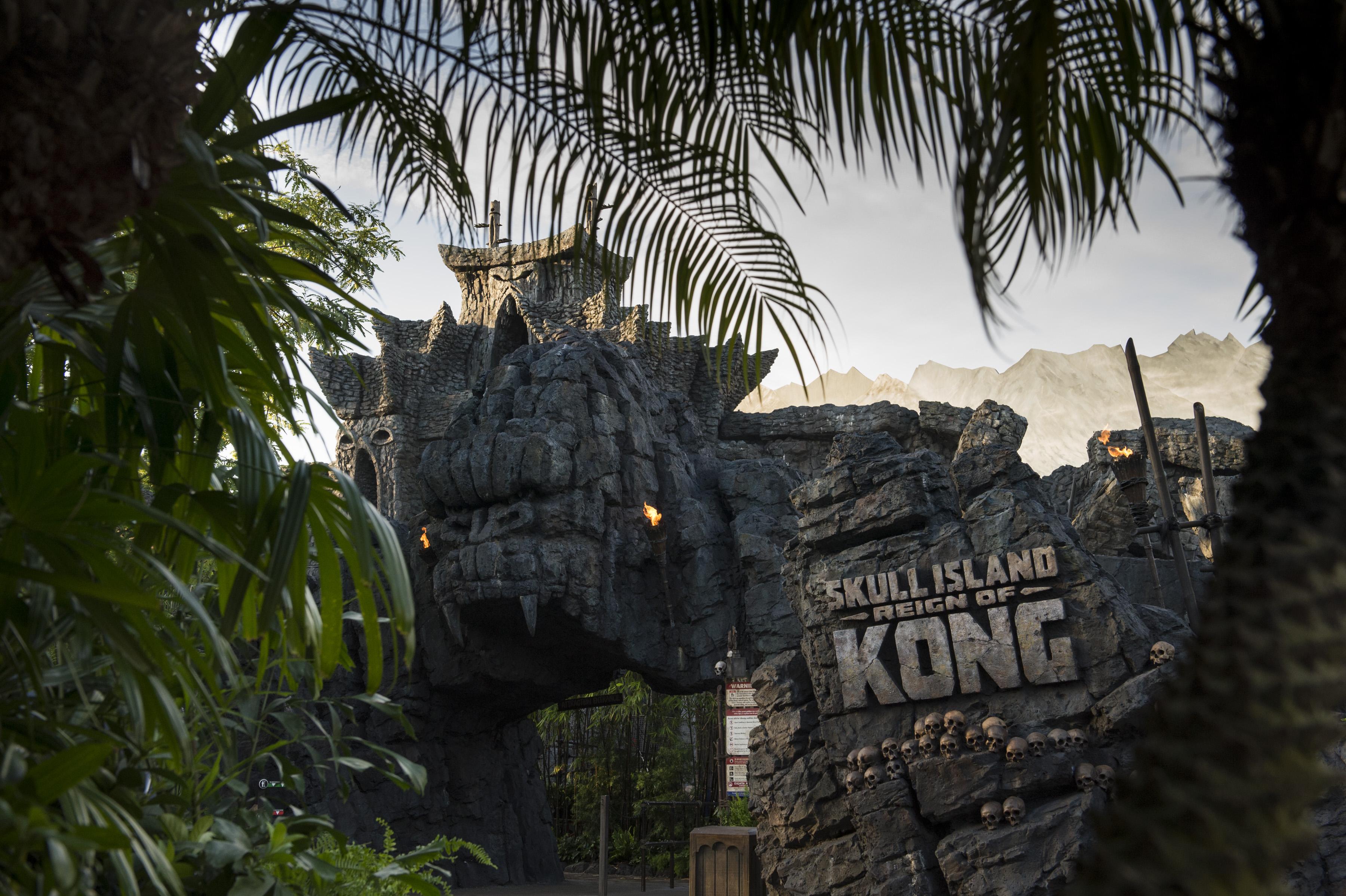 Skull Island: Reign of Kong abre oficialmente para o público no Islands of Adventure