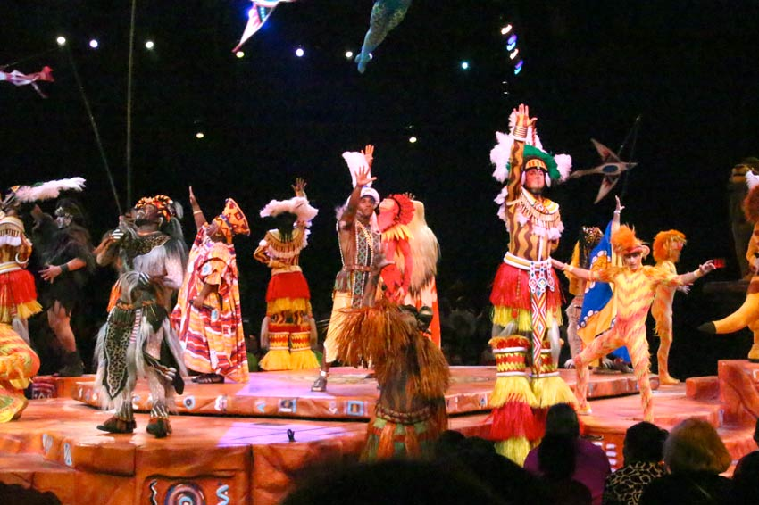 Festival of the Lion King (Animal Kingdom – Africa)