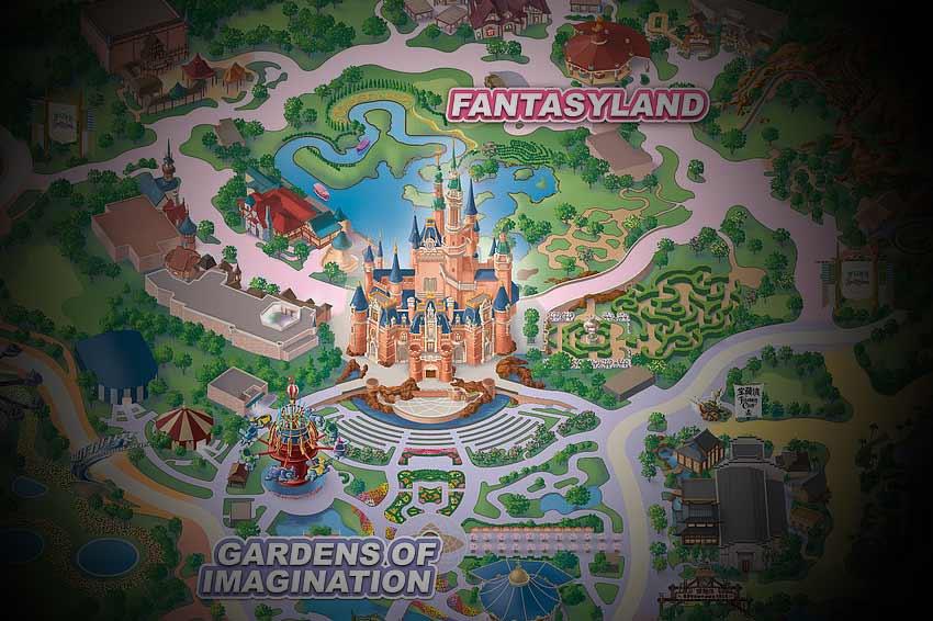 Reveladas as áreas e atrações do Shangai Disneyland Park!
