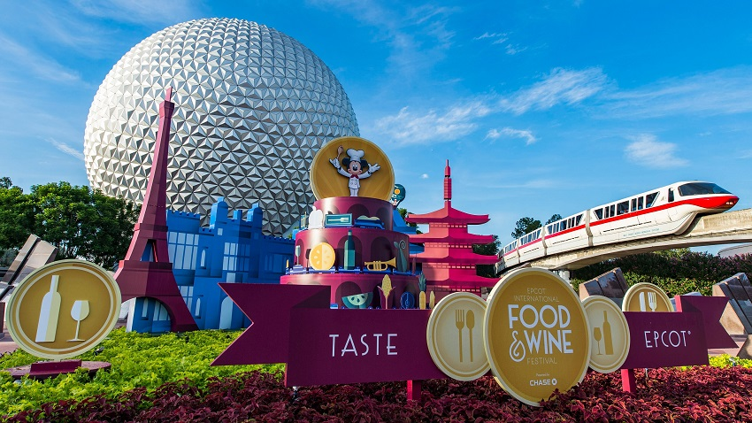 Shows Epcot Food and Wine Festival