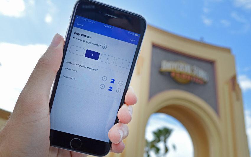 Universal Orlando Resort lança sistema de compra de ingresso em app oficial