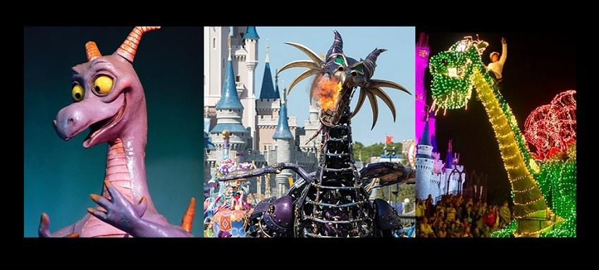 TOP 5 – Os dragões mais incríveis dos parques Disney
