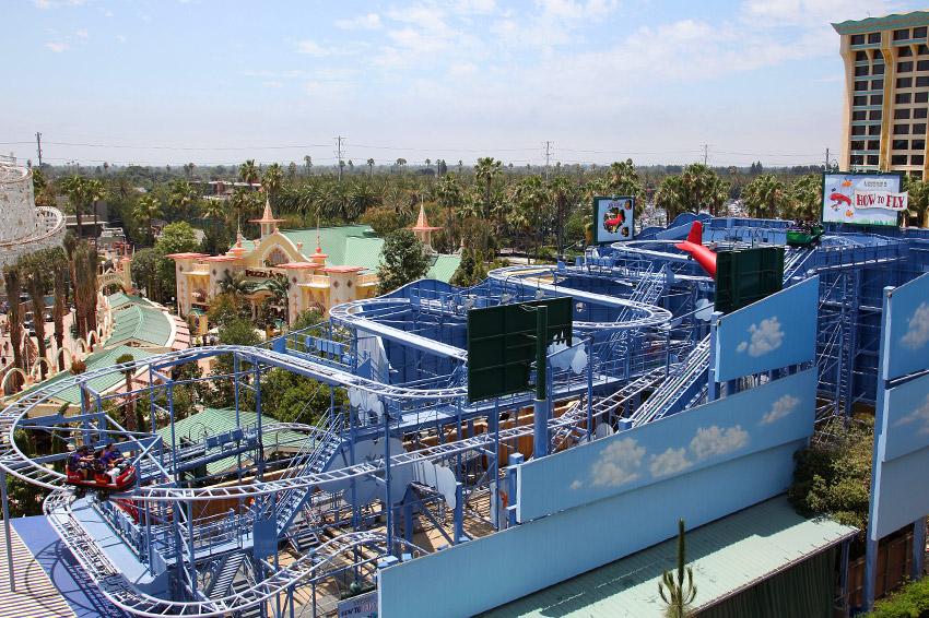Goofy's Sky School (Disney California Adventure – Paradise Pier)