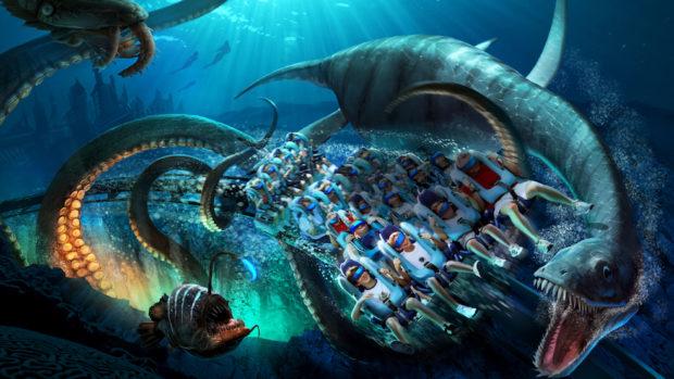 SeaWorld trará montanha-russa com realidade virtual e outras novidades para 2017