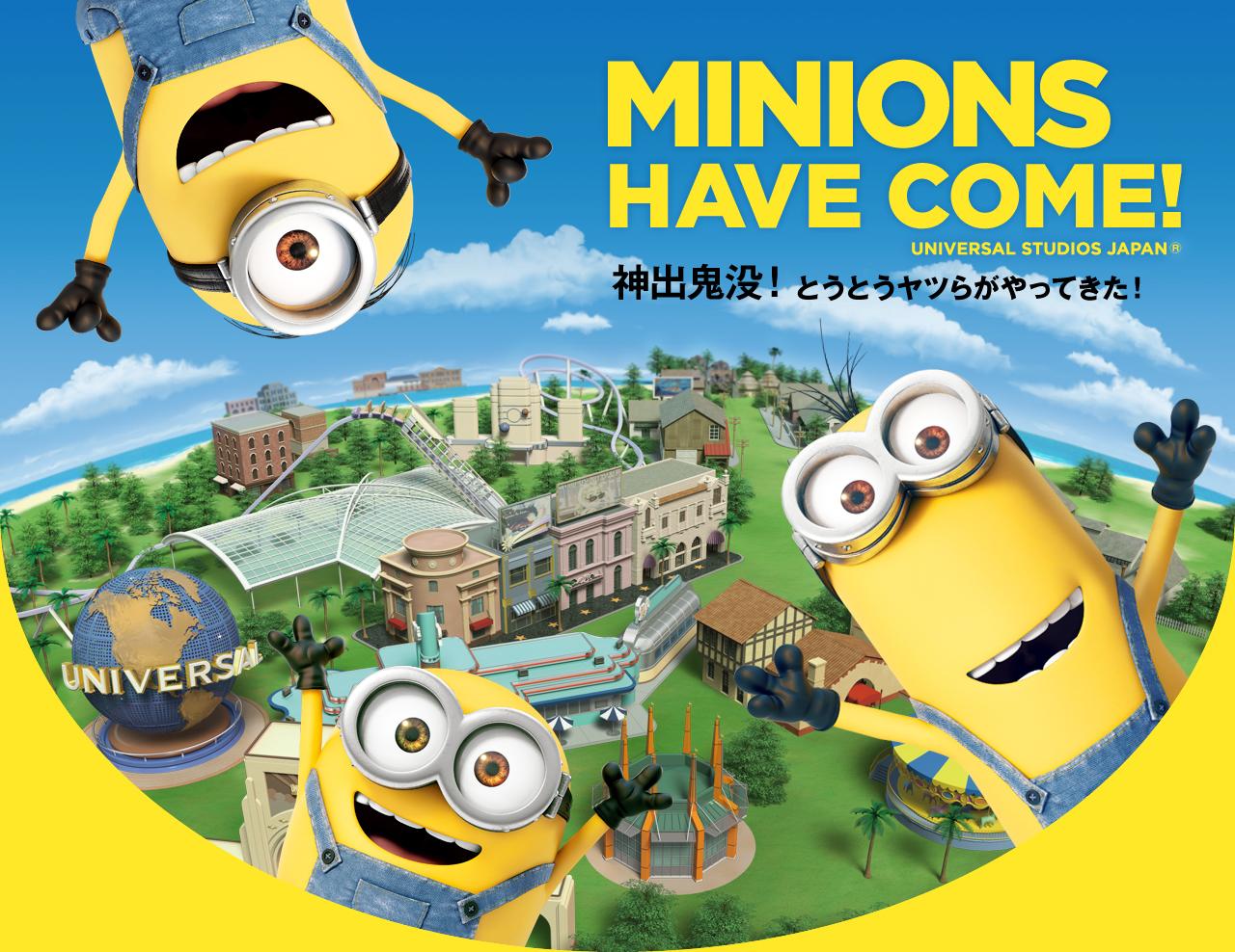Os Minions vão para o Universal Studios Japan