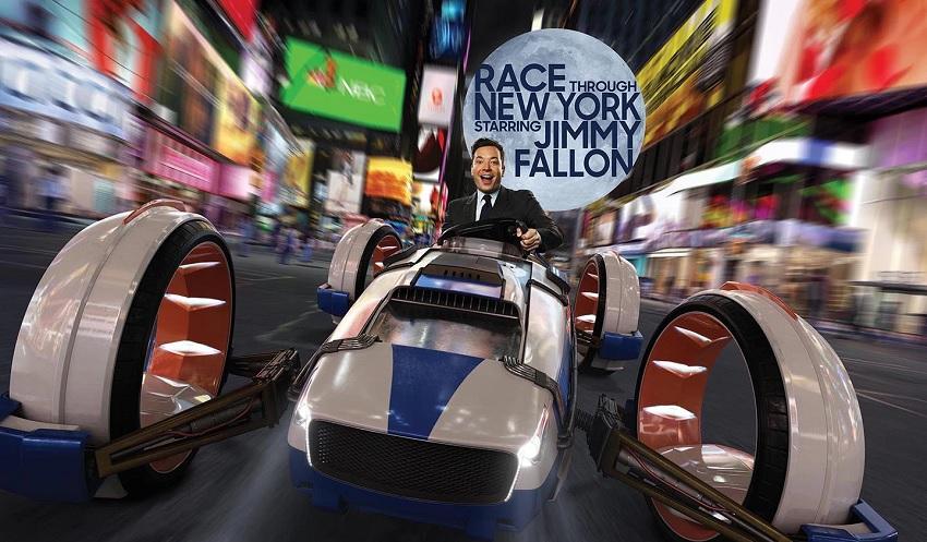 Jimmy Fallon revela detalhes de sua atração no Universal Studios Florida