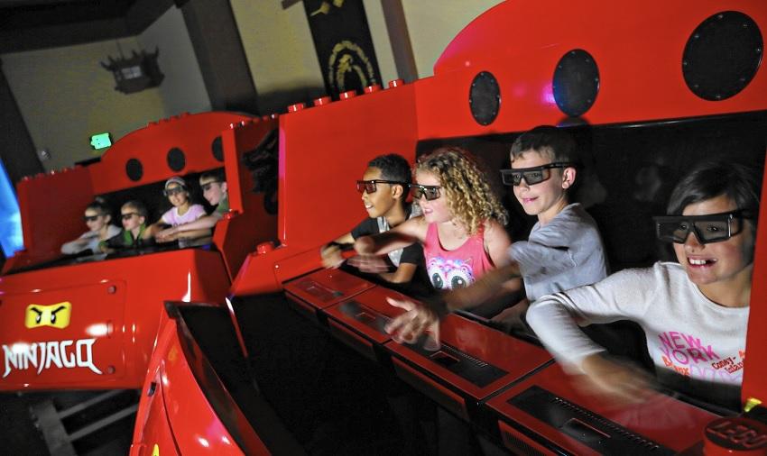 Atração interativa de Ninjago vai para Legoland Florida e Windsor