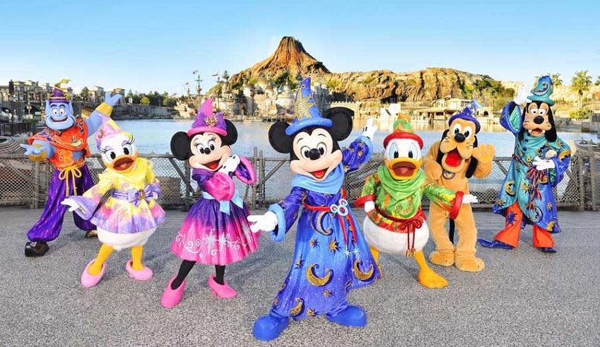 Novas atrações e eventos no Tokyo Disney Resort em 2017 e 2018