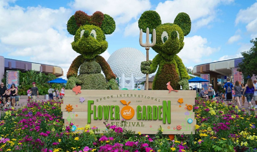 Tudo sobre o Epcot Flower and Garden Festival 2017