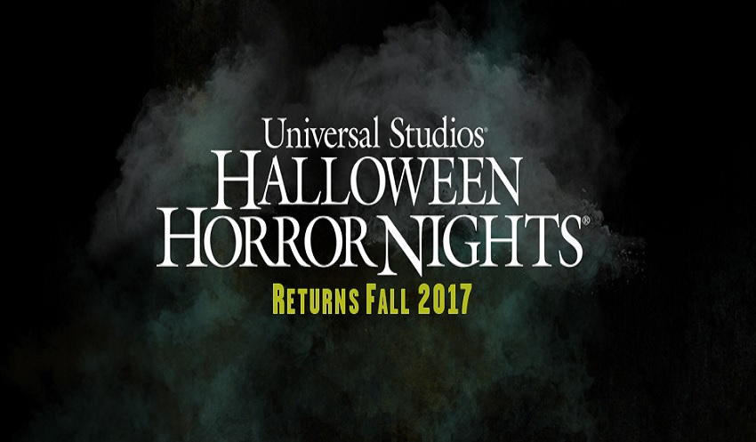 Universal Orlando Resort anuncia datas do Halloween Horror Nights de 2017