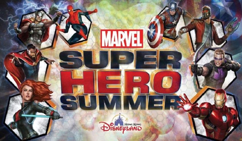 Hong Kong Disneyland terá Marvel Super Hero Event em 2017
