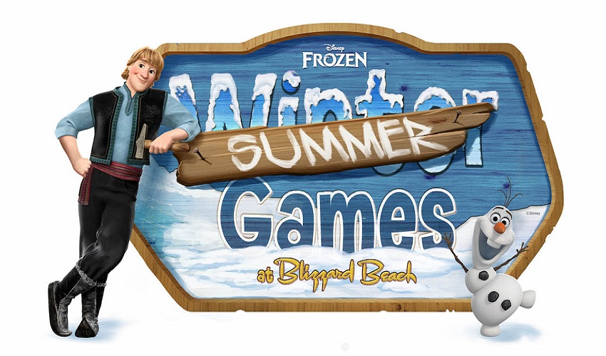 Frozen Summer Games retorna ao Blizzard Beach em maio