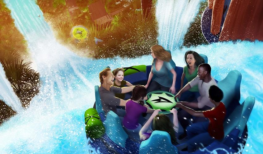 SeaWorld promete atração de corredeiras mais radical de Orlando para 2018