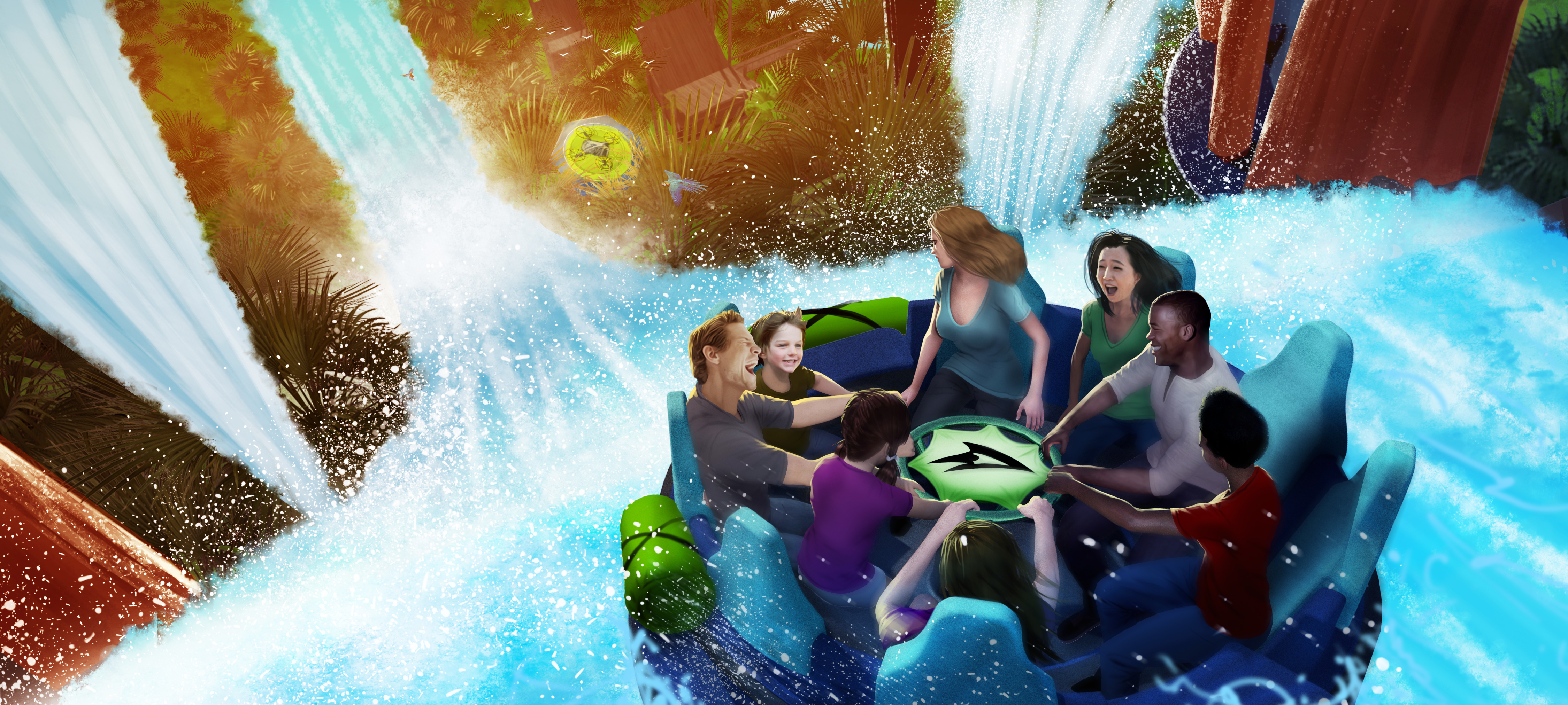 SeaWorld divulga novidades da futura atração Infinity Falls