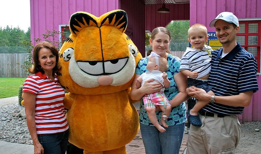 Garfield será a estrela dos parques Six Flags na China