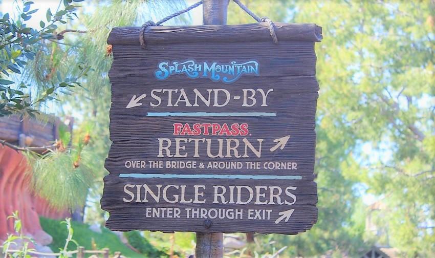 A diferença das filas Single Rider na Disney e Universal Studios