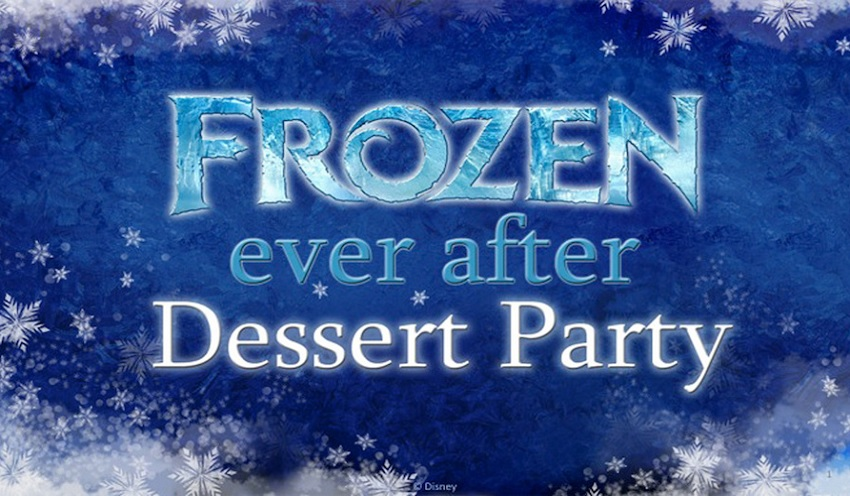 Reservas abertas para a Frozen Ever After Dessert Party no Epcot