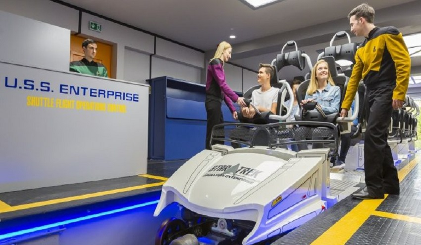 Montanha-russa de Star Trek é inaugurada no Movie Park Germany