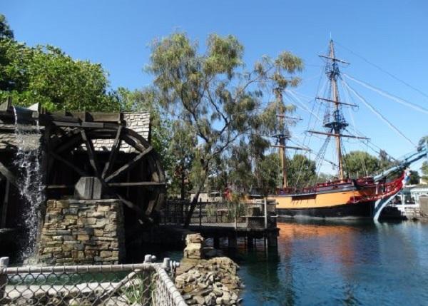 Tom Sawyer Island no Rivers of America Disneyland