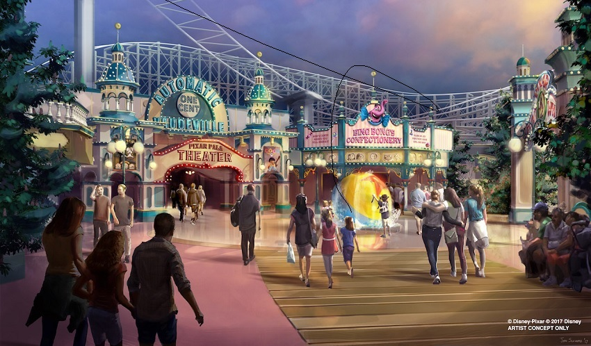 Disney California Adventure: áreas da Marvel e Pixar confirmadas no parque