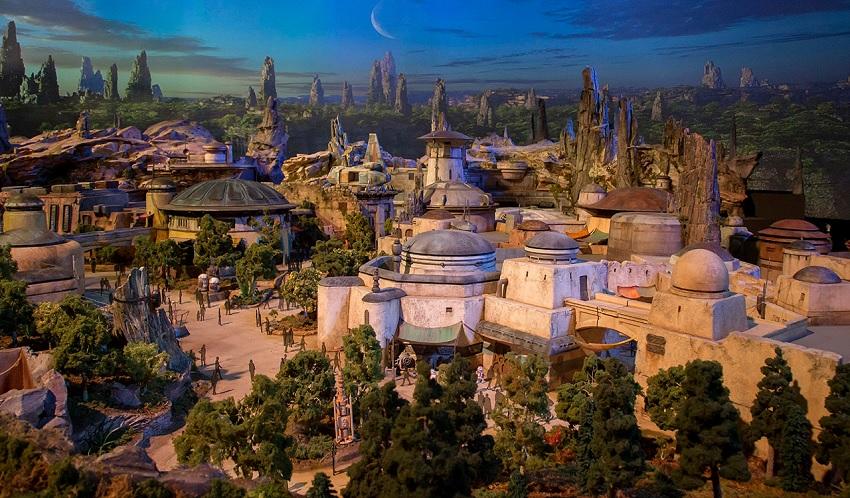 Star Wars Land: maquete completa da área revelada na D23 Expo 2017