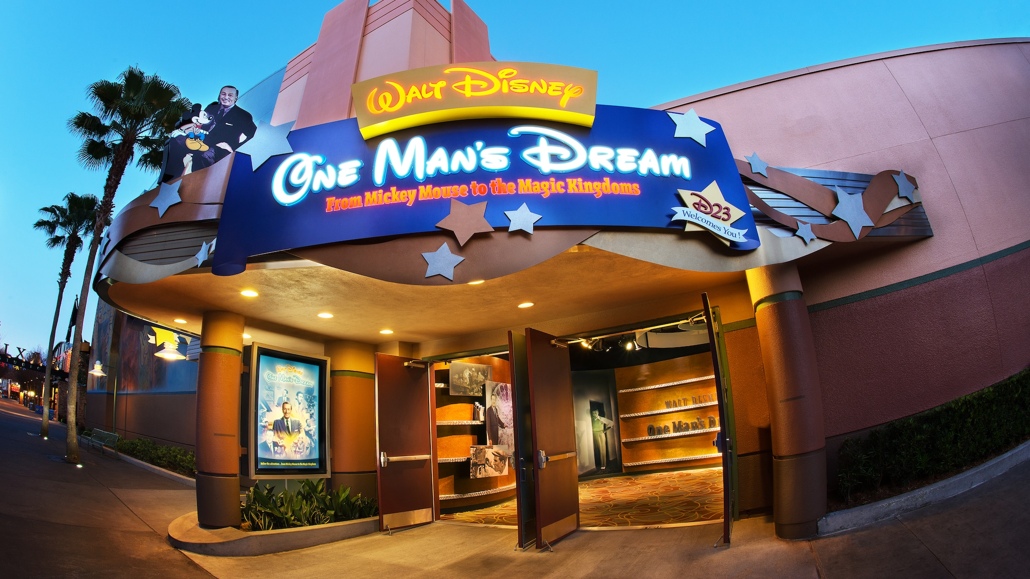 Disney Hollywood Studios ganha preview center de futuras atrações, no lugar da One's Man Dream