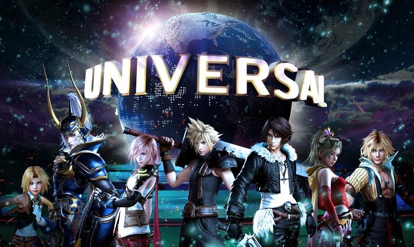 Final Fantasy terá montanha-russa VR no Universal Studios Japan