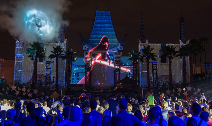 Evento no Disney Hollywood Studios celebra novo filme de Star Wars