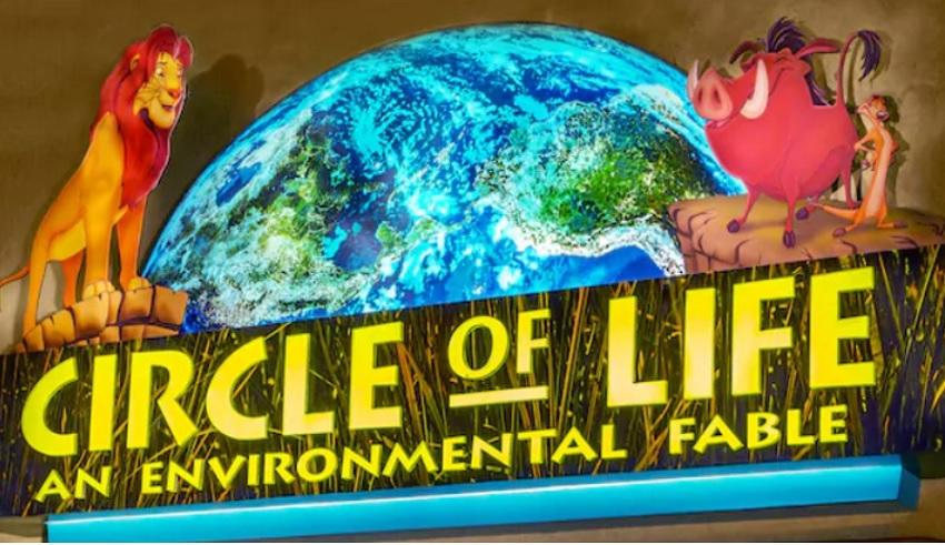 Atração The Circle of Life encerra as atividades no Epcot