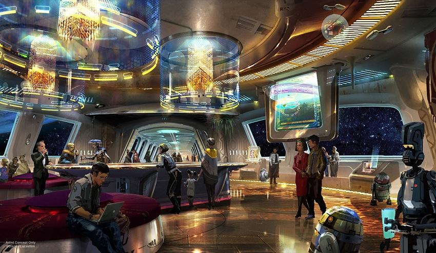 O hotel de Star Wars no Walt Disney World Resort